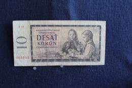 74 /  Tchécoslovaquie -  Kronen 10 Couronnes - Desat Korun   - Ceskoslovenskych  - 1960 - /  N° 003243 - Czechoslovakia
