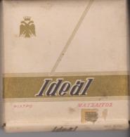 PAQUET CIGARETTES VIDE. GRECE OU RUSSIE . IDEAL . - Empty Cigarettes Boxes