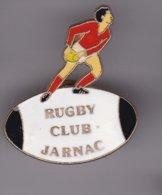 Pin's   RUGBY CLUB DE JARNAC - Rugby