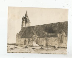 SAINT GUENOLE (PENMARC'H FINISTERE) PHOTO ANCIENNE DE LA CHAPELLE NOTRE DAME DE LA JOIE ET LE CALVAIRE (PHOTO ROL PARIS) - Lugares