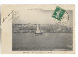 Ambulant Ferroviaire ALGER A TIZI OUZOU 1909 - Algérie (1924-1962)