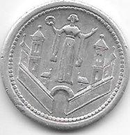 *notgeld Magdeburg  10 Pfennig   1921   Alu  312.1a - [ 2] 1871-1918 : Empire Allemand