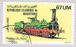Mauritania 473 Used Locomotive 1980 (BP3778) - Mauritania (1960-...)