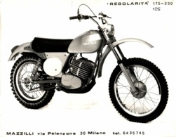 MAZZILLI +-23cm X 17cm  Moto MOTOCROSS MOTORCYCLE Douglas J Jackson Archive Of Motorcycles - Fotos