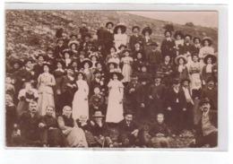 Carte Photo Du 04 -ROUGON  Mariage En 1911( Toutes Les Familles Du Village) - Other Municipalities