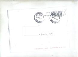 Lettre Flamme Chiffree Sous Code Sur Ciappa + Dijpn Grand - Poststempel (Briefe)