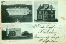 AUBEL - 3 CHÂTEAUX - 1901 - - Aubel