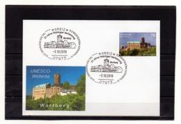 BRD, 2019, Karte Mit Michel 3310 Und Sonderstempel, UNESCO-Welterbe Wartburg - [7] Federal Republic