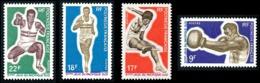 POLYNESIE 1969 - Yv. 66 67 68 69 **   Cote= 37,00 EUR - Sports. Jeux Pacifique-Sud (4 Val.)  ..Réf.POL24318 - Polynésie Française