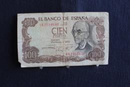 76 /  Espagne - Banco De Espana - Cien Pesetas 100 / 1970  /  N° 6K2559640 - [ 3] 1936-1975 : Regime Di Franco