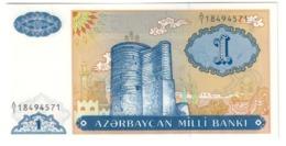 AZERBAIJAN1MANAT1993P14UNC.CV. - Azerbaïjan