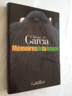 Mémoires De La Jungle De Tristan Garcia. Gallimard. Collection Blanche - Bücher, Zeitschriften, Comics