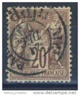 D - [DEL-304-3]TB//-N° 67 Belle Oblitération TB - 1876-1878 Sage (Type I)