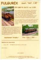 Catalogue FULGUREX 2010 Infoblatt SBB/CFF Fb X/3 11301 HO 1:87 - En Français Et Allemand - Books And Magazines