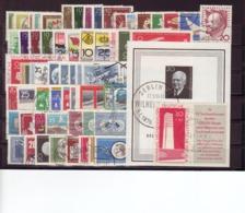 DDR, Kpl. Jahrgang 1960, Gest. (K 4681) - Gebraucht