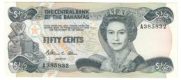 BAHAMAS50CENTS1974P42UNC.CV. - Bahamas