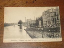 PUTEAUX / Les Quais Vers La Rue De Paris - Inondations - Janvier 1910 - Puteaux