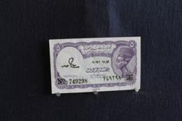77 / Egypte  - Egypt 2x  5 Piastres   /  N° 749298 - - Egypte