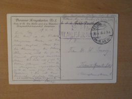 Field Post, Feld Post, Peronner Kriegskarten Nr.1 - WW1