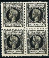 Cuba (Española) Nº 170 [4] Nuevo Cat.22€ - Cuba (1874-1898)