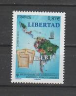 FRANCE / 2010 / Y&T N° 4527 ** : Indépendance Amérique Centrale & Caraïbes - Gomme D'origine Intacte - France