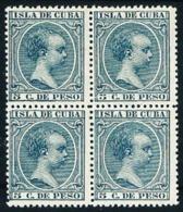 Cuba (Española) Nº 149 [4] Nuevo Cat.5€ - Cuba (1874-1898)