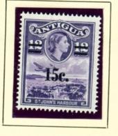 ANTIGUA  -  1963 Surcharge 15c On 12c Unmounted/Never Hinged Mint - Antigua Und Barbuda (1981-...)