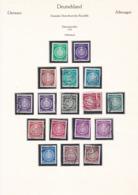 DDR - 1954/56 - Sammlung - Dienstmarken - Gest. - DDR