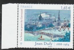 FRANCE 2014 JEAN DUFY LA SEINE AU PONT DU CARROUSEL NEUF** YT 4885 - - France