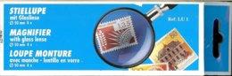 LEUCHTTURM - LOUPE à MANCHE 50 Mm Avec LENTILLE En VERRE, Gr.4x - Pinze, Lenti D'ingrandimento E Microscopi