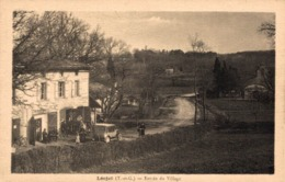 9358 -2019   LEOJAC   ENTREE DU VILLAGE - France