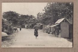 CPA VIETNAM - VIET-NAM - INDOCHINE - HANOI - L'Octroi De Câu-Giây - TB PLAN Route Avec ANIMATION - Viêt-Nam