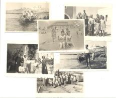 SANTA MARIA Di LEUCA 1949 /1950 - Lot De 6 Photos ( +/- 6 X 9 Cm ) (B264) - Lieux