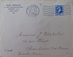 R1947/255 - 1944 - MARIANNE D'ALGER - N°636 Seul Sur € - France