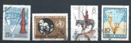 ARGENTINA 1966 (O) USADOS MI-898+905+907+949 YT-PA112+731+736+776 VARIOS - Oblitérés