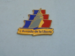 Pin's ARMADA DE LA LIBERTE DE ROUEN B - Schiffahrt