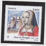 FRANCE 2014 ANNE DE BRETAGNE NEUF** YT 4834  - - Nuevos