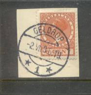 Langebalk Geldrop 1 Op Veth 6 Ct - Periode 1891-1948 (Wilhelmina)