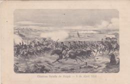 CARTOLINA - POSTCARD - CILE - GLORIOSA BATALLA DE MAIPù - 5 DE ABRIL 1818 - VIAGGIATA PER MILANO ( ITALY) - Cile