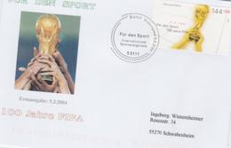 Germany FDC 2004 FIFA 100 Years (G104-24) - Lettres & Documents