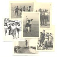 DE PANNE - Kust - 1948 Et 1951 - Lot De 6 Photos ( +/- 6 X 9 Cm ) (B264) - Places