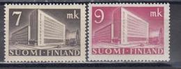 Finland 1942 - Postverwaltungsgebaeude, Mi-Nr. 269/70, MNH** - Finland