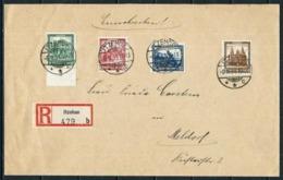 Alemania Imperio Nº 435/8 (S) Certificado - Briefe U. Dokumente