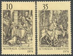 Australia. 1974 Christmas. MH Complete Set. SG 580-581 - 1966-79 Elizabeth II