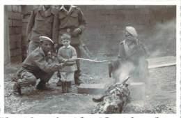 Photo Militaria - Guerre D'Algérie, Le Méchoui - Guerra, Militares