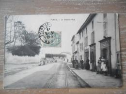 Flacé (Saone Et Loire),La Grande Rue,épicerie - France