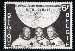 BELGIUM-BELGIQUE OBLITÉRÉ 1969 Y&T N°1508 - First Man On The Moon - België