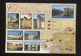 (44) : Châteaux De Loire-Atlantique : Chateaubriant, Nantes, Blain, Careil, Ranrouët, La Bretesche, Haute-Goulaine, Etc. - France