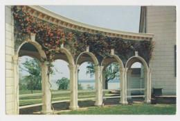 AJ19 Colonnades Of Mount Vernon Mansion - United States