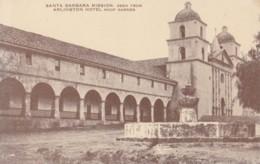 AN49 Santa Barbara Mission, Seen From Arlington Hotel Roof Garden - Santa Barbara